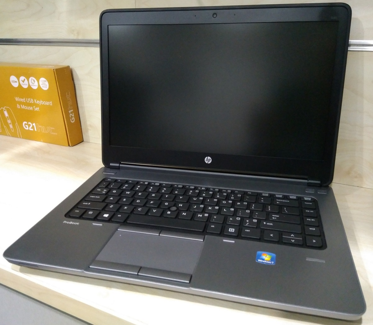 "HP ProBook 645 A6-4400M 4Gb/500Gb/HD 7460G/14""/Win7Pro #RFB"