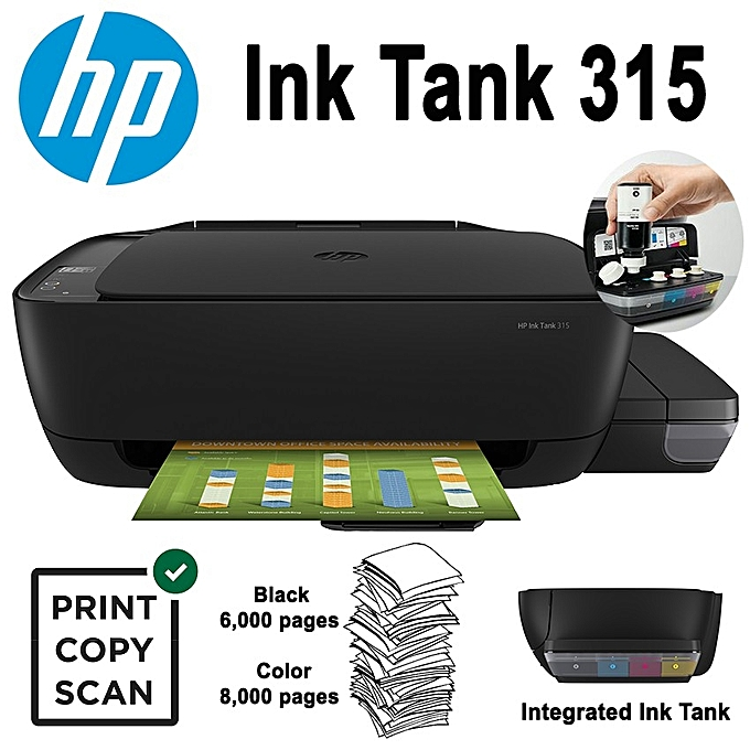 HP ITS Ink Tank 315 A4 PSC Z4B04A 8ppm