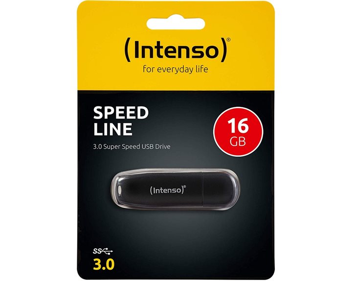 Intenso USB Stick 16B 3.0 Speed Line