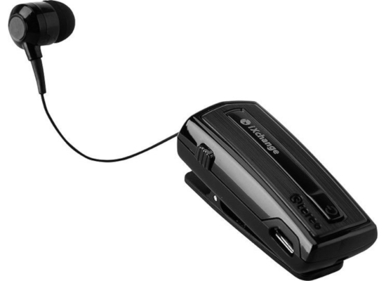 iXchange Bluetooth Retractable with Vibration Black