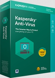 Kaspersky AntiVirus 2019 1user
