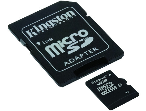 KINGSTON MicroSD 4Gb Memory Class 10 SDC10/4GB