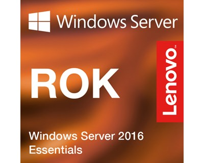 MS Windows Server 2016 Essentials LENOVO ROK