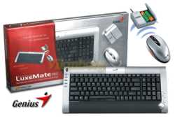 GENIUS Keyboard Wireless TwinTouch LuxeMate Pro-Mouse Ασύρματο