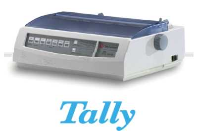 Tally 2540/9 Dot Matrix Printer Heavy Duty DotMatrix A3 1+5 9pin