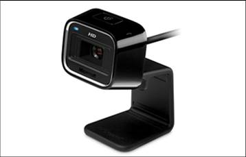 Microsoft Internet Camera LifeCam HD-5000 High Definition Webcam