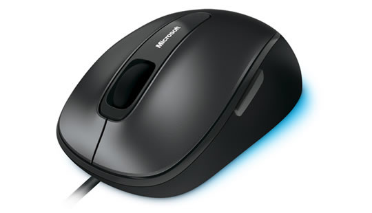 Microsoft Mouse Comfort 4500 BlueTrack Wired Black - 4FD-00004