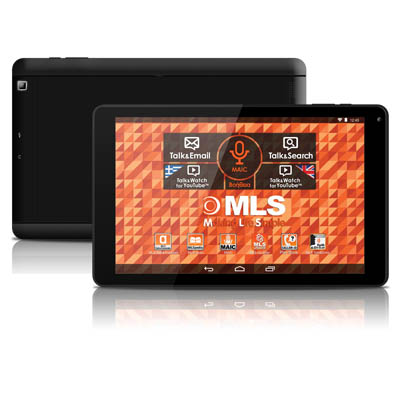 "Tablet MLS IQTAB Elegant QUAD 10"" 1,2GHz/1Gb-16Gb/A4.4/3.2Mp"