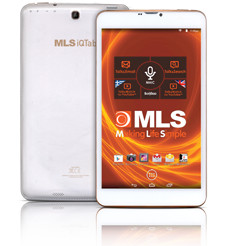 "Tablet MLS iQTab Bullet 8"" 3G Octa 1-16GB A4.4 8Mp IPS"