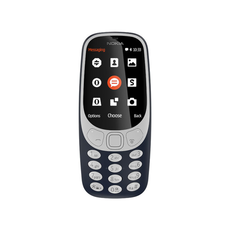 Κινητό Nokia 3310 2G DS DarkBlue/ WarmRed 22h