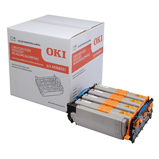 OKI 44968301 Black/Cyan/Magenta/Yellow Drum Unit 30K