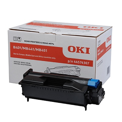 DRUM OKI B401/MB441/MB451 Black 25K Pages 44574307