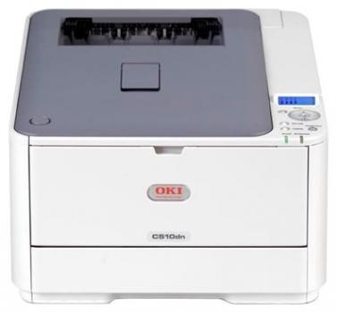 Oki Laser Color C511DN A4/26ppm/600dpi/64Mb/LowCost/Duplex-Lan