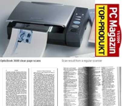 Plustek OpticBook 3600 Scanner για Βιβλία