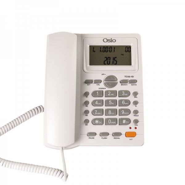 Ενσύρματο Osio Corded Phone OSW- 4710 White