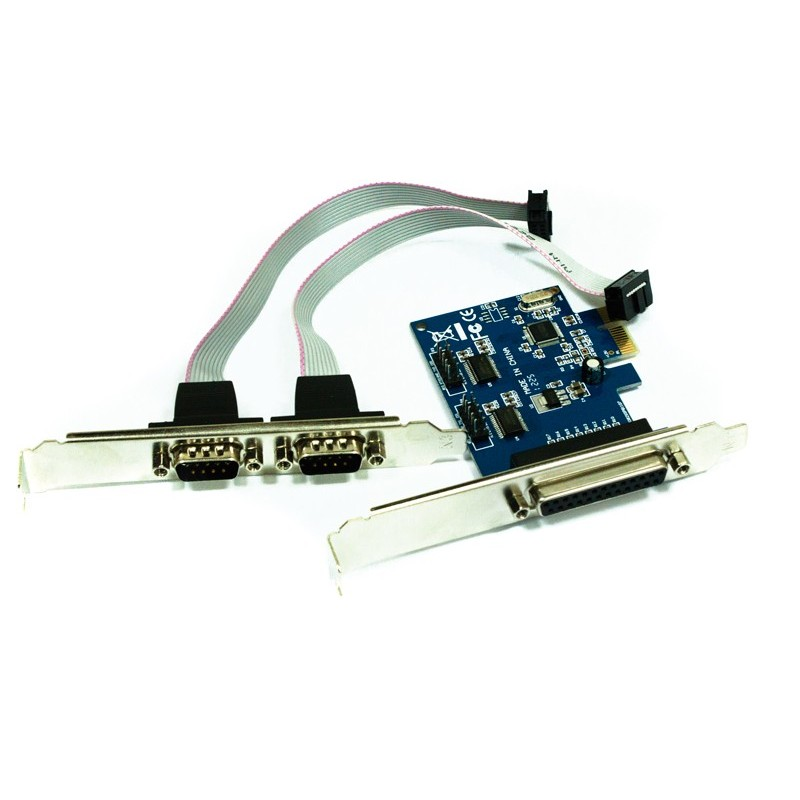 Κάρτα Combo APPROX PCI-E to 2x Serial / Parallel