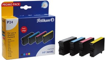 Multipack Μελάνια Pelikan για HP 364XL 4x Black/M/C/Y No364XL