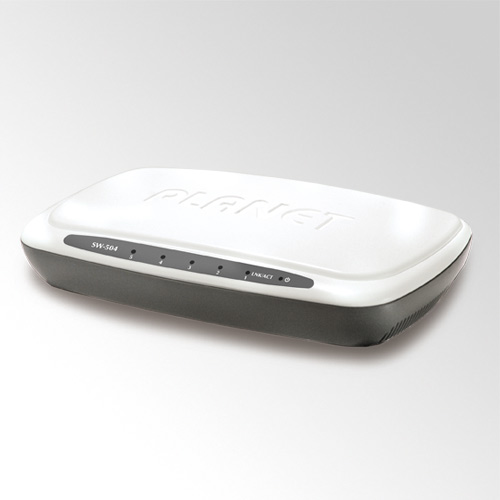 Planet SW-504 5Port 10/100Mbps FastEthernet Switch