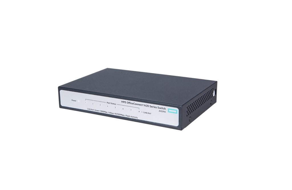 HP Switch OfficeConnect 1420-8G 8Port 10/100/1000 JH329A