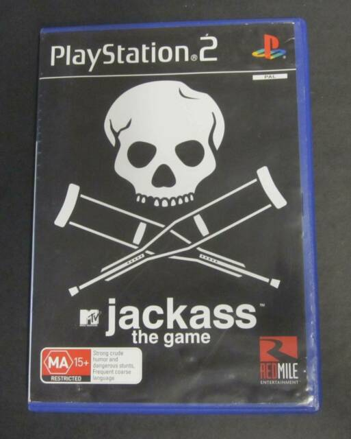 PS2-GAME : JACKASS THE GAME