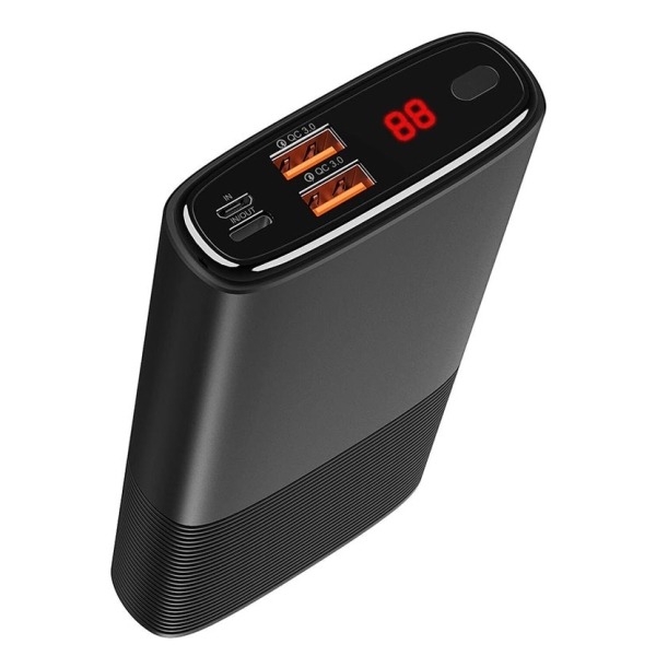 Puridea Powerbank S18 QC 3.0 20000mAh Black
