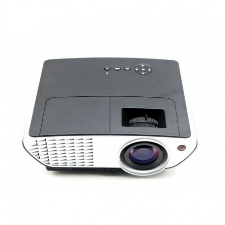 Multimedia Projector LED 2000 Lum 800x480 HDMI/Video/VGA BLACK