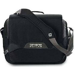 "Τσάντα Φορητού Samsonite X+III Laptop Messenger Bag 15,4"" Black"