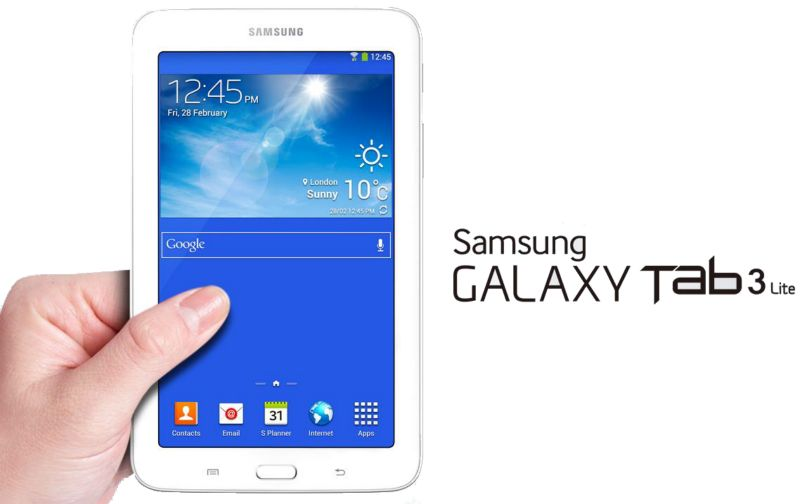 "Samsung Galaxy 7"" Tab3 Lite White 8Gb Android T110"