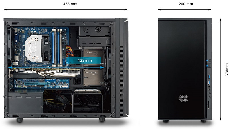 Alpha PC Power i7-9700/8Gb-240Gb SSD/GT1030/W10P