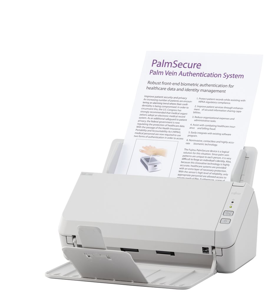 Fujitsu SP-1120 Document Scanner ADF/600dpi/USB/20ppm Duplex