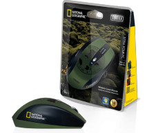 Sweex Wireless Mouse National Geographic MI613 Branded Green