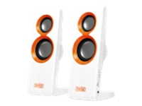 SWEEX 2.0 Speaker Set Purephonic 20Watt Orange USB SP202