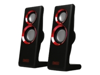 SWEEX 2.0 Speaker Set Purephonic 20Watt Red USB SP201