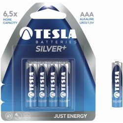 Μπαταρίες AAA Tesla Silver Pack 4pieces