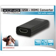 Konig USB to HDMI converter 1920x1080 USB to TV μετατροπέας
