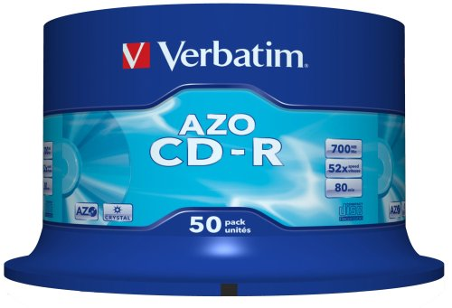 VERBATIM CD-R 700MB/52x/50PACK/CR 43343