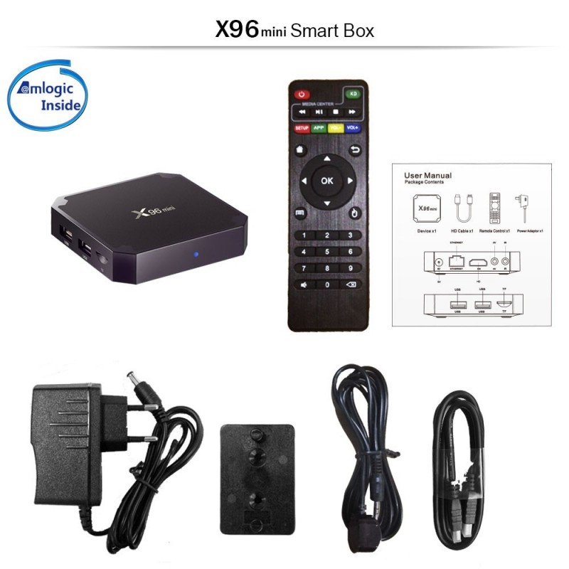 Android TV BOX QuadCore 2GB-16Gb 4K HDMI SD