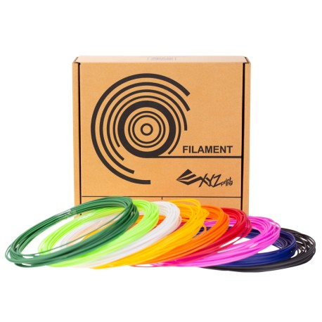 3D Printer XYZprinting 200gr filament PCL 9colors 8MX9 Αναλώσιμα