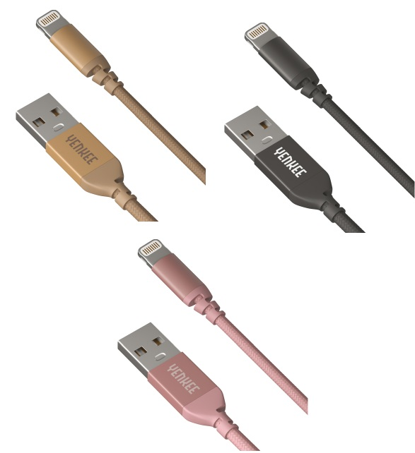 Yenkee Data Cable Usb/Lightning Usb 1m Pink YCU 611 RE