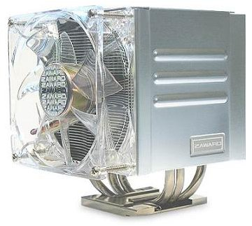 Zaward Quattro Intel/AMD Quiet CPU Cooler ZCJ001 478/775/939